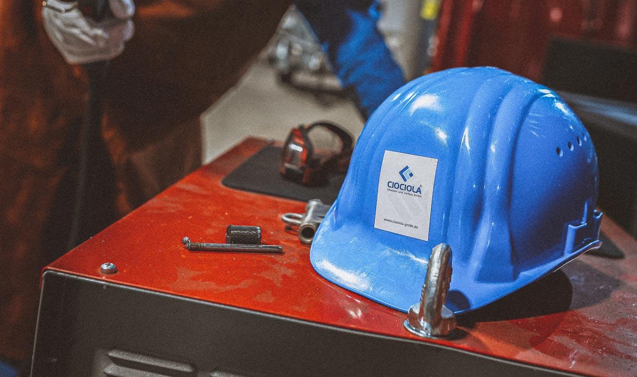 Arbeitsschutz Straßenbau