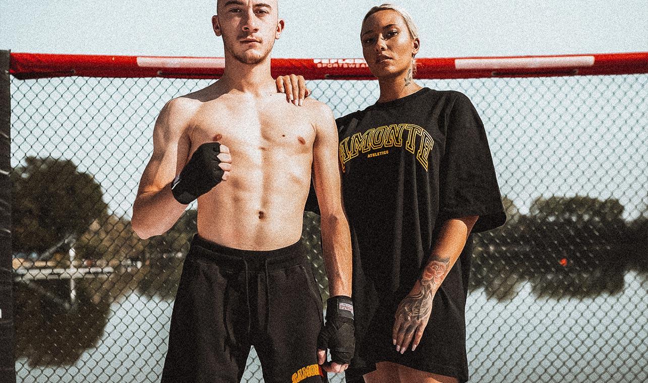 Sportbekleidung Kampfsport