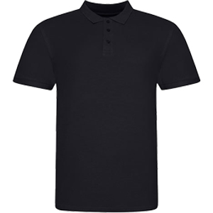 Polo Shirt Black Schwarz